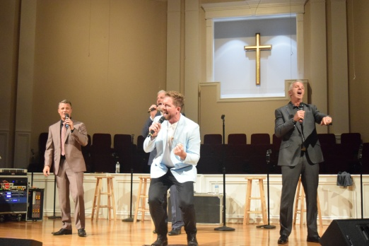 Triumphant Quartet, shown during its 2018 appearance, returns to Sand Spring Baptist on June 14.