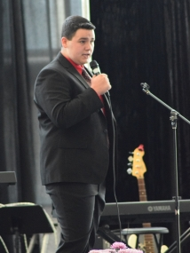 Waylon Bayes, of Johnson County, took the Best of Show and Best Soloist Awards at the Gospel Music Showcase at the Kentucky State Fair.