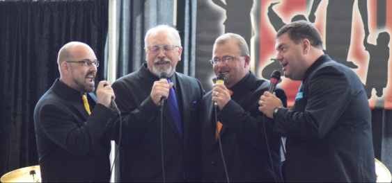 Highest Praise Quartet, of Muhlenberg County, took the Best Quartet award.
