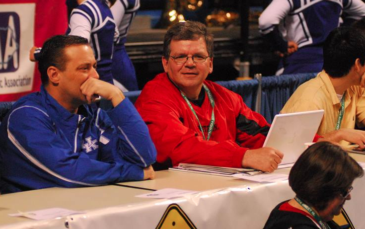 at 2009 sweet 16 with billy gillispie