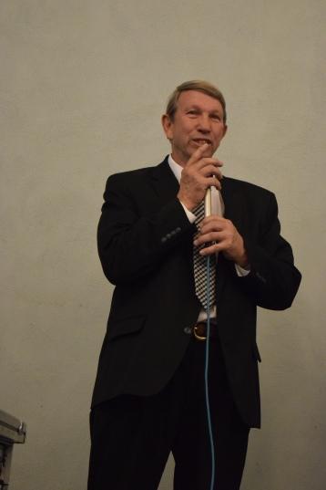 Bass singer David Martin.