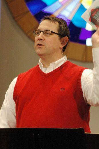 Porter preaching