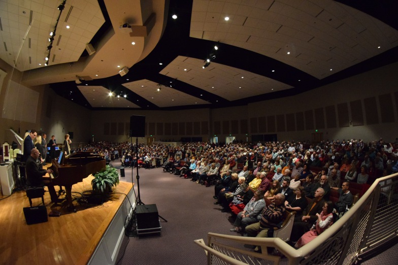 Packed house at Sand Spring Baptist on Oct. 17.