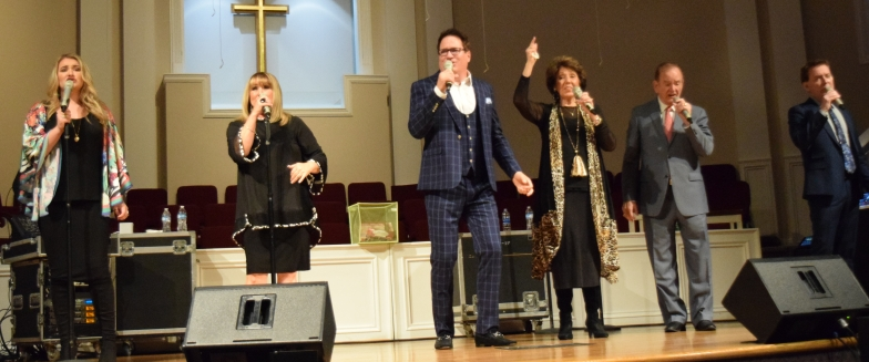 The Hoppers perform at Sand Spring Baptist Church on Oct. 17.